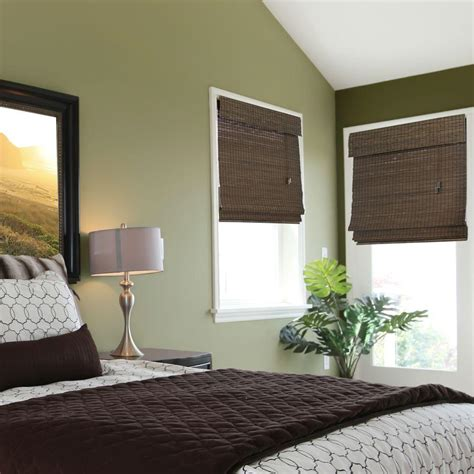 home decorator collection blinds home decorators collection espresso flat weave bamboo