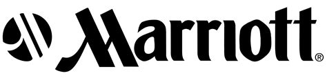 logo black marriott logos