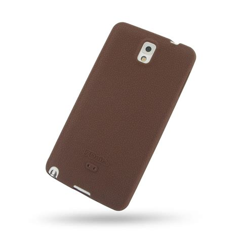 Softcase Samsung Note 3 samsung galaxy note 3 luxury silicone soft chocolate brown pdair