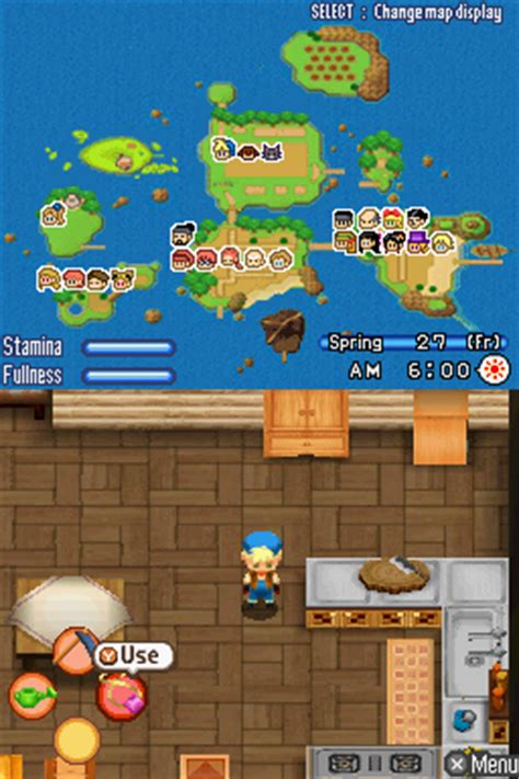 emuparadise harvest moon ds harvest moon ds emuparadise