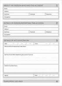 Reports Template Accident Report Template 10 Free Word Pdf Documents