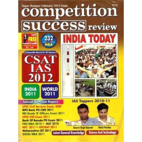 Best Magazines In India In Different Categories by Top 10 Competitive Magazines Of India Infobharti