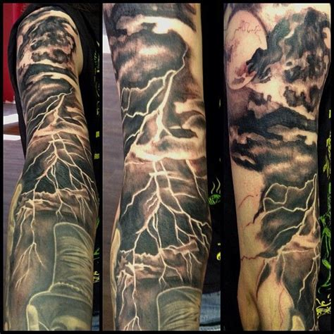 thunderstorm tattoos 1000 images about on get it