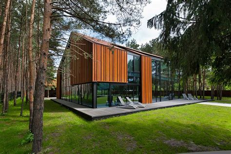 house in the woods house in the woods of kaunas lithuania