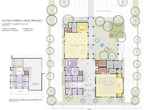 funeral home floor plan layout funeral home floor plans