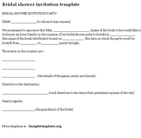 bridal shower itinerary template vee s creative wedding program ideas wedding