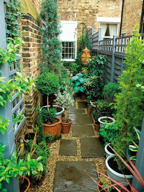In The Garden And More Best 25 Narrow Garden Ideas On