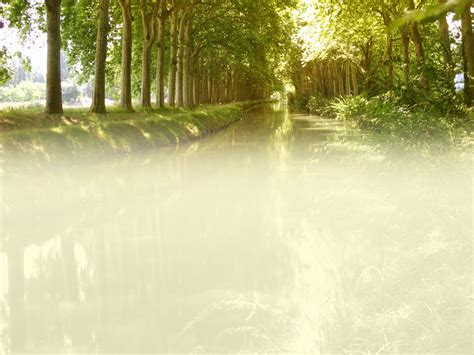 free canal blur nature backgrounds for powerpoint nature