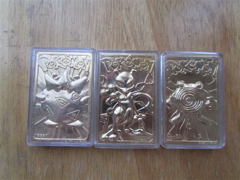 Plated Gift Card - pokemon gold plated cards by shortsage on deviantart
