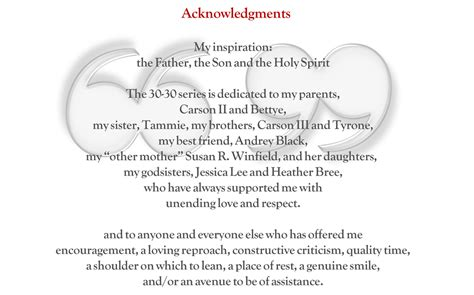 thesis acknowledgement quotes acknowledgement pages