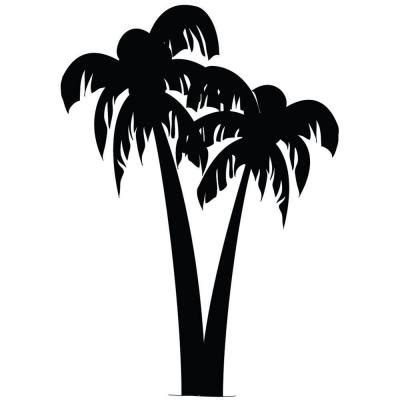 Palm Tree Stencil Outline by Palm Tree Stencil 100 Stencil Patterns Stenciling Palm And Silhouettes