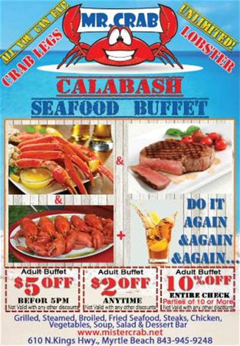 Mr Crab Calabash Seafood Buffet Coupons Picture Of Mr Seafood Buffet Coupons