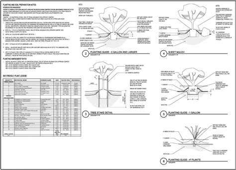 Tree Planters Notes by N2k Cad Management Gallery Landscape Architecture