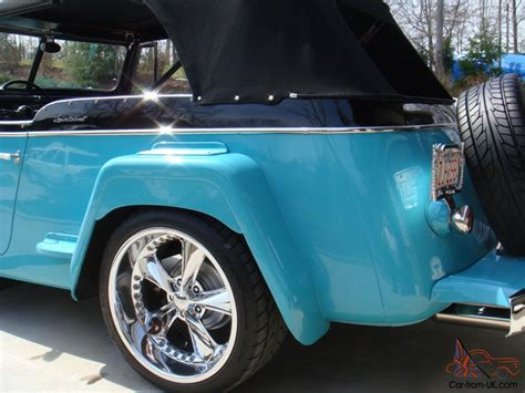 willys jeepster interior willys jeepster custom interior