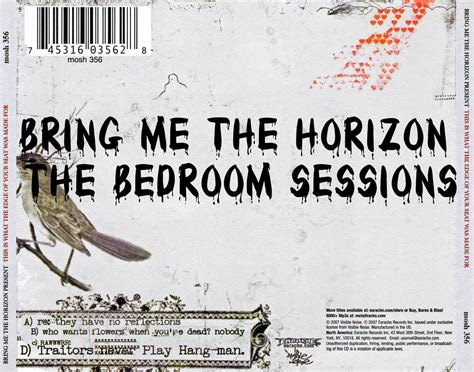 The Bedroom Sessions Bring Me The Horizon bring me the horizon the bedroom sessions songs