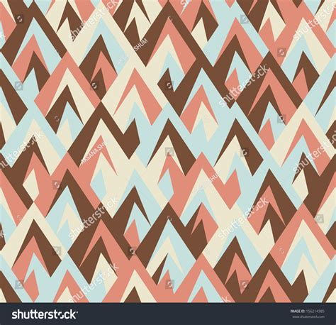 stock zigzag pattern seamless geometric ethnic zigzag pattern stock vector