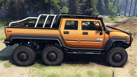 hummer 2 sut hummer h2 sut 6x6 for spin tires