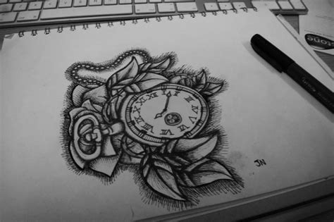 stopwatch tattoo designs stop by jackerynorthall on deviantart