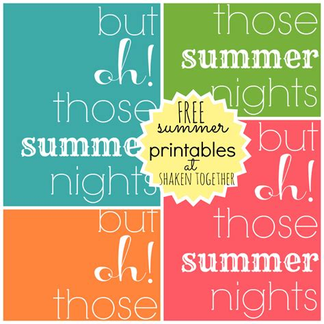 printable summer quotes free summer printables a new printer from staples