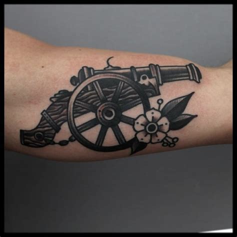 artillery tattoo designs artillery designs pictures to pin on