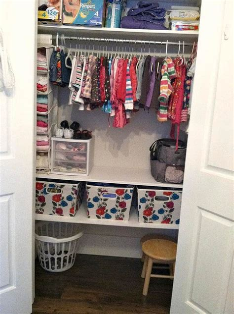 how to organize clothes without a dresser diy 20 insanely genius ways to organize baby clothes diy