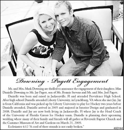 Wedding Announcement In Paper by Chiffon Wedding Gown Newspaper Wedding Announcements