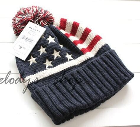 who knitted the american flag 2015 new u s a american flag couples hat and scarf wool