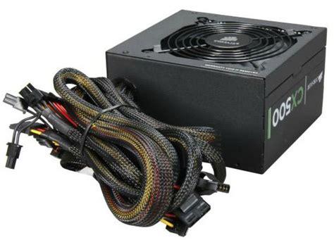 Power Supply Corsair Cx 500 W buy corsair cx500 v2 500w gaming power supply at evetech co za