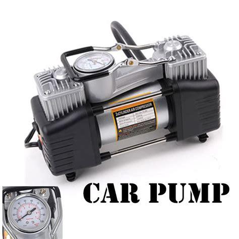 wholesale 12v air compressor 150psicar tyre inflator cylinder metal car tire inflator