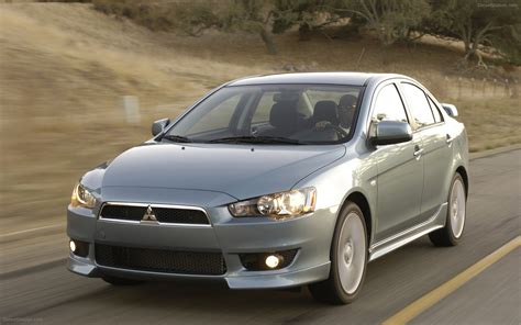 mitsubishi car 2008 mitsubishi lancer 2008 widescreen car pictures