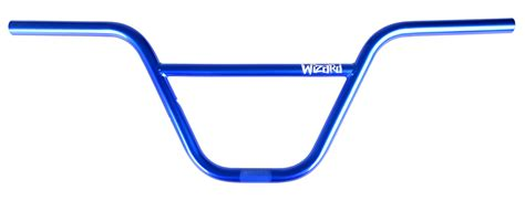 Handle Bar wizard handle bar 8 5 translucent blue hyper bicycles