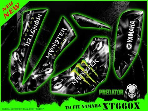 Yamaha Xt 660 X Aufkleber by Yamaha Xt 660 X Monster Full Dekorsatz Stickers