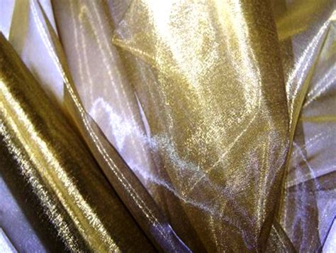 sheer draping fabric wedding decorative brass organza fabric draping roll 71cmw