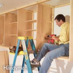 How To Build A Simple Wall Cabinet Garage Cabinets Simple Garage Cabinets