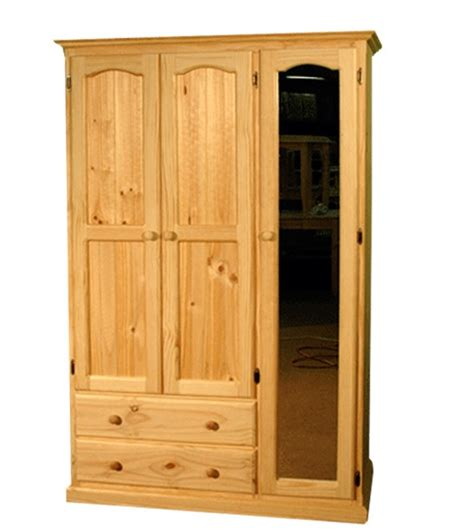 Fisher 3 Door Robe W8 features hanging, drawers and