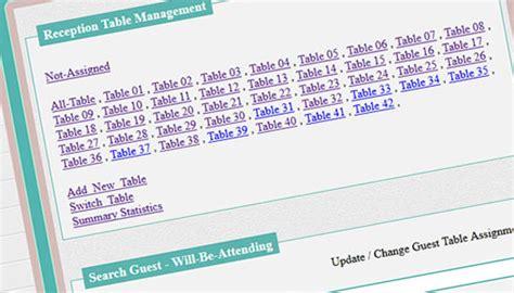 Wedding Organizer Website by Wedding Planner Tools Wedding Website Tools