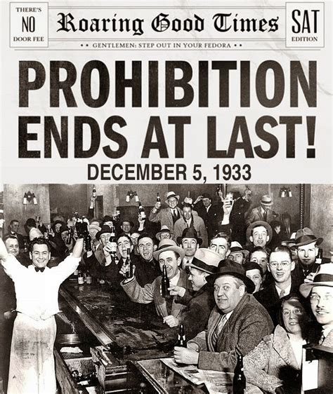 Repealing National Prohibition by Bergheim Follies Eightyyears Ago
