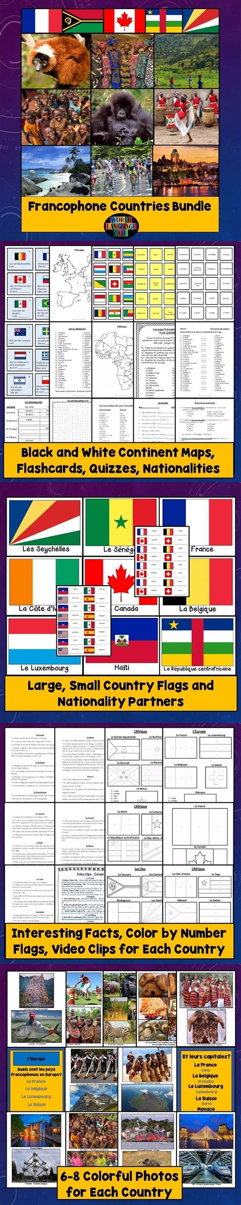 flags of the world lesson plan 17 best images about french world language cafe lesson