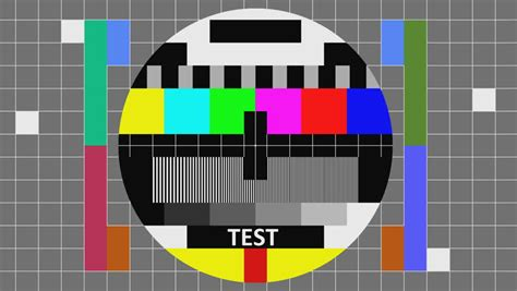 tv test pattern vector tv test noise jitter and flickering seamless loop more