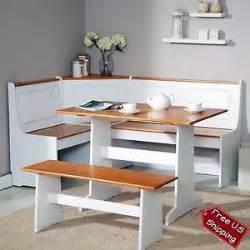 Corner Booth Dining Set Table Kitchen Corner Nook Dining Set Bench Breakfast Kitchen Booth