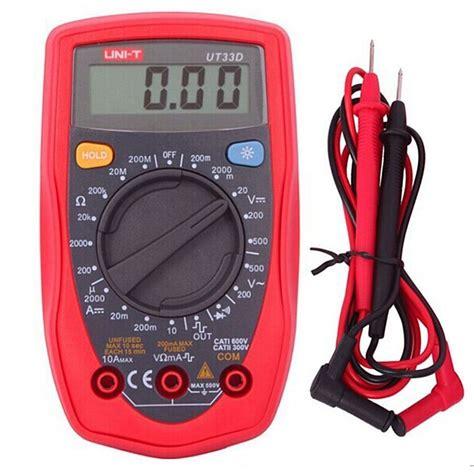 Jual Multimeter Uni T uni t ut33d palm size digital multimeter handheld ac dc