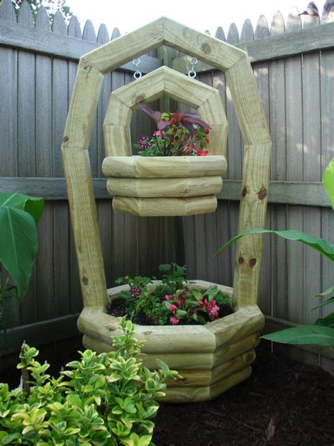 Landscape Timbers Planters Planters Landscapes And Landscape Timbers On