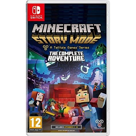 Switch Minecraft Story Mode Complete Adventure minecraft story mode the complete adventure nintendo switch
