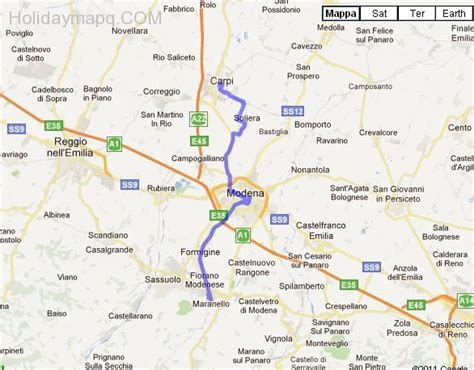 maranello italy map of italy maranello holidaymapq com