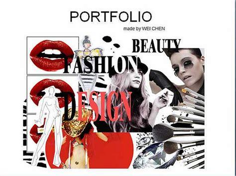 fashion illustration cover page fashion design portfolio cover page