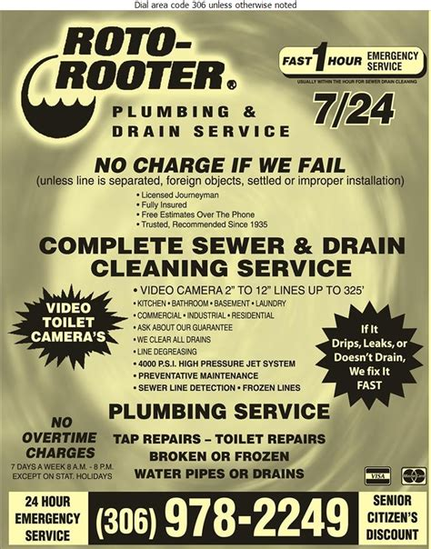 24 7 Rooter And Plumbing by Plumbing Maintenance Saskatoon Sk Roto Rooter Sewer