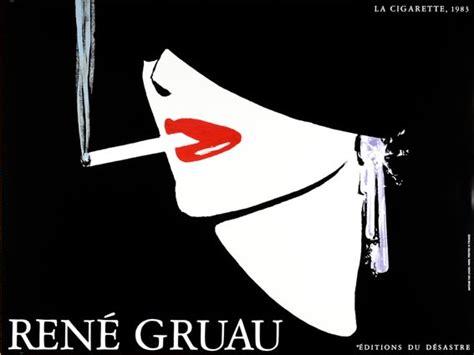 Original Authentic La Mer Guarantee 31 desastre la cigarette poster rene gruau orig 1983 ebay