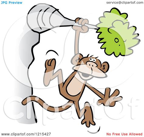 how to draw a monkey swinging on a vine monkey swinging from a tree drawing