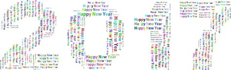 new year word clipart prismatic happy new year 2017 word cloud no