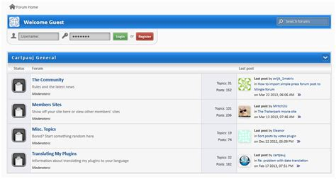 blogger help help with the mingle forum plugin trades by kreatorteam